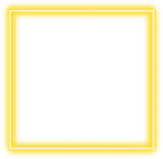 #yellow #neon #square #border #png #freetoedit - Colorfulness, Transparent Png