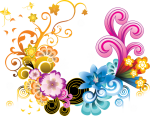 Free Png Download Floral Colorful Png Images Background - Png Designs For Photoshop, Transparent Png
