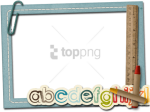 Free Png Download Kids Polaroid Frame Png Png Images - School Frames And Borders Png, Transparent Png