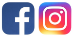 Follow Us On Facebook And Instagram - Graphic Design, HD Png Download