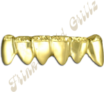 Gold Teeth Png - Golds With Diamond Cut Tips, Transparent Png