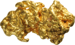Deluxe 24k Gold Teeth Whitening - Gold Nugget Png, Transparent Png