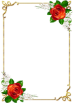 Frames Png, Borders For Paper, Borders And Frames, - Page Border Designs Flowers, Transparent Png