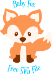 Graphic Freeuse Library Free Fox Pre Png Pixels Baby - Fox Svg File Free, Transparent Png