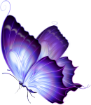 74 Very Beautiful Butterfly Tattoo Designs That You'll - Purple And Gold Butterfly, HD Png Download
