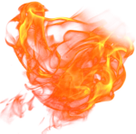 Animated Fire Png Graphic Black And White Download - Animated Flame Transparent, Png Download
