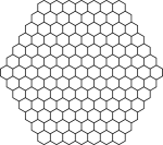 Beehive Vector Graphic Png - Hexagon Pattern, Transparent Png