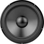 Graphic Black And White Library Sound Vector Speaker - Dayton Audio Dsa315 8, HD Png Download