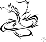 Snake Tattoo Png Image - Tribal Tattoo Designs Of Snake, Transparent Png