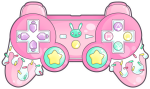 Graphic Transparent Library Game Controllers Video - Cute Gaming Controller Drawing, HD Png Download