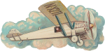 Free Vintage Airplane Graphic - Spirit Of St Louis Clipart, HD Png Download