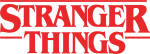 Stranger Things Logo Png Graphic Black And White Stock - Stranger Things Logo Transparent, Png Download