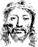 Free Vector Graphic - Jesus Face Crown Of Thorns Png, Transparent Png