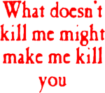 Graphic Royalty Free Stock Aesthetic Red Kill Goth - Transparent Edgy Aesthetic Quote, HD Png Download