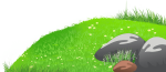 Rolling Grass Cliparts - Clip Art Grass Hill, HD Png Download