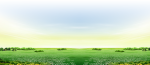Steppe Farm Rural Area - Farm Background With Grass, HD Png Download