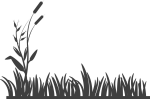 Grass Vector Silhouette Png - Grass Black And White, Transparent Png
