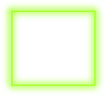 #sticker #neon #square #green #freetoedit #frame #border - Parallel, HD Png Download
