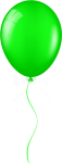 Free Png Download Green Balloon Clipart Png Photo Png - Transparent Green Balloon, Png Download
