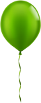 Free Png Download Single Green Balloon Png Images Background - Balloons Png, Transparent Png
