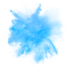 Blue Smoke Effects - Water Color Blue Effect Png, Transparent Png