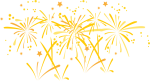 Fogos Ano Novo Png - Fireworks Hand Drawn Png, Transparent Png