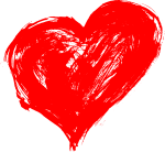 Free Download - Hand Drawn Heart Png, Transparent Png
