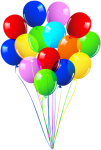 Free Png Download Bunch Of Balloons Png Images Background - Happy Birthday Balloons Png, Transparent Png
