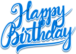 Font Png For Free Download On - Clipart Happy Birthday Word Art, Transparent Png