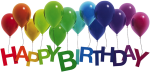 Happy Birthday Png Photo - Happy Birthday Balloons Png, Transparent Png