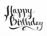 Happy Birthday Letter Png Free Download - Happy Birthday Letter Png, Transparent Png