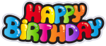 Free Png Download Happy Birthday Png Images Background - Transparent Happy Birthday Png, Png Download