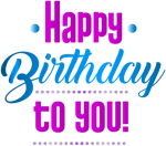 Free Png Download Happy Birthday Png Images Background - Graphic Design, Transparent Png
