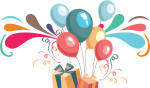 Transparent Happy Birthday Vector, HD Png Download