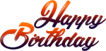Free Png Download Happy Birthday For Picsart Png Images - Happy Birthday Png Text, Transparent Png
