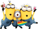 Minions Aniversario Png - Minions Happy Birthday Png, Transparent Png