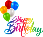 Free Png Download Happy Birthday Png Images Background - Happy Birthday Png Text, Transparent Png