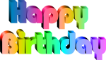Clip Library Download Happy Birthday Free Clipart - Clipart Happy Birthday Transparent, HD Png Download