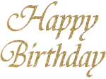 Happy Birthday Letter Png Photo - Happy Birthday Gold Png, Transparent Png
