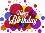 Colorful Happy Birthday Free Png Image - Happy Birthday Free Png, Transparent Png