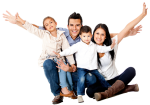 Family - Happy Family Png, Transparent Png