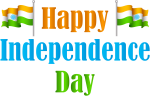 India Happy Independence Day Transparent Png Clip Art - Happy Independence Day Png, Png Download