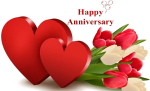 Happy Anniversary Download Png Image - Happy Wedding Anniversary Background, Transparent Png