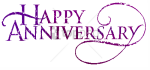 Anniversary Text Png Image With Transparent Background - Happy Work Anniversary Clipart, Png Download