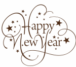 Happy New Year Png - Happy New Year Text Png, Transparent Png