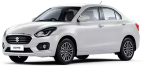 New Swift Dzire White Colour, HD Png Download