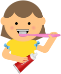 Oral Health Clipart - Brushing Teeth Clipart Png, Transparent Png