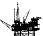Oil Platform, Oil Rig, Oil And Gas, Technical Drawing, - Oil Rig Png, Transparent Png
