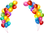 Colorful Balloons Png Image Background Png Arts For - Happy Birthday Balloon Png, Transparent Png