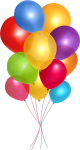 Birthday Balloons Clipart, Balloon Clipart, Balloon - Balloons Png Transparent Background, Png Download